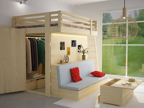 Kinh nghiệm thiết kế nội thất cho không gian hẹp