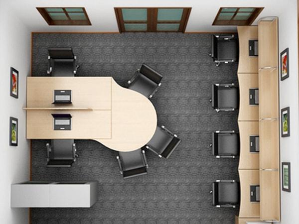 Ý tưởng thiết kế nội thất văn phòng đẹp cho không gian nhỏ