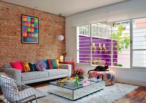 Bố trí, làm đẹp ghế sofa phù hợp thiết kế phòng khách nhỏ