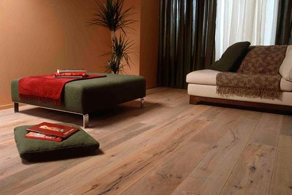 Chọn loại sàn gỗ phù hợp với không gian phòng