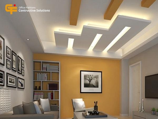 Thiết kế phá cách, trần nhà không hề theo một khuôn mẫu nào trước đó