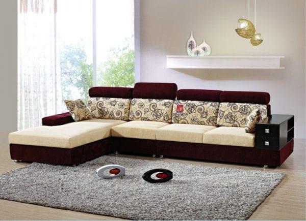 Kích thước của thảm cần đảm bảo phù hợp không gian phòng khách