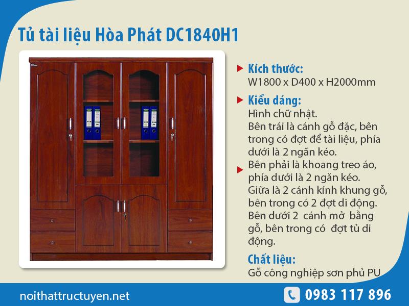 Tủ tài liệu DC1840H1