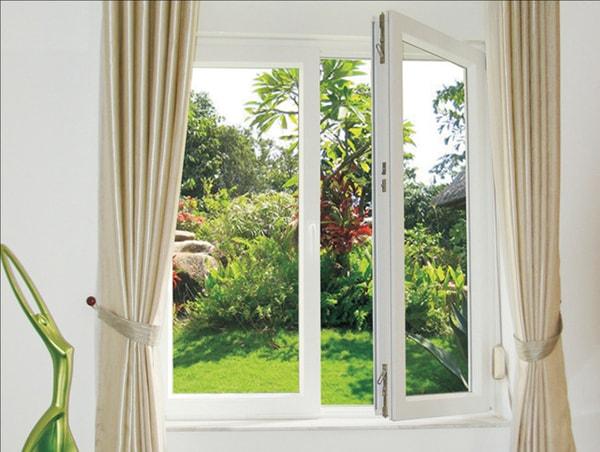 Số lượng cửa sổ vừa phải và hướng về thiên nhiên