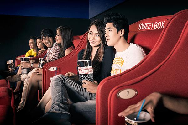 Ghế đôi Sweetbox là nơi ly tưởng cho các cặp đôi hẹn hò