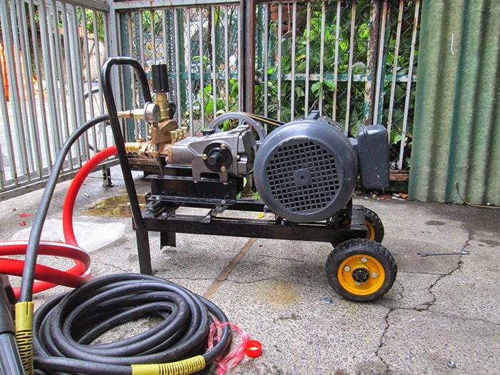 Nguyên nhân của hiện tượng máy rửa xe không thể ra nước