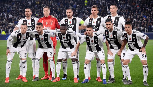 Đội hình Juventus trong áo CLB tham dự ICC cup 2019