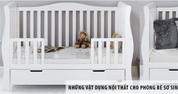 Những vật dụng nội thất đẹp và tiện ích cho phòng bé sơ sinh