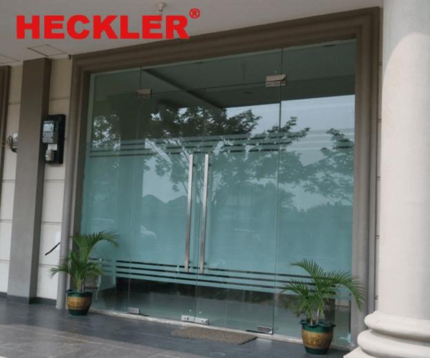 Phụ kiện HECKLER cho cửa kính hiện đại