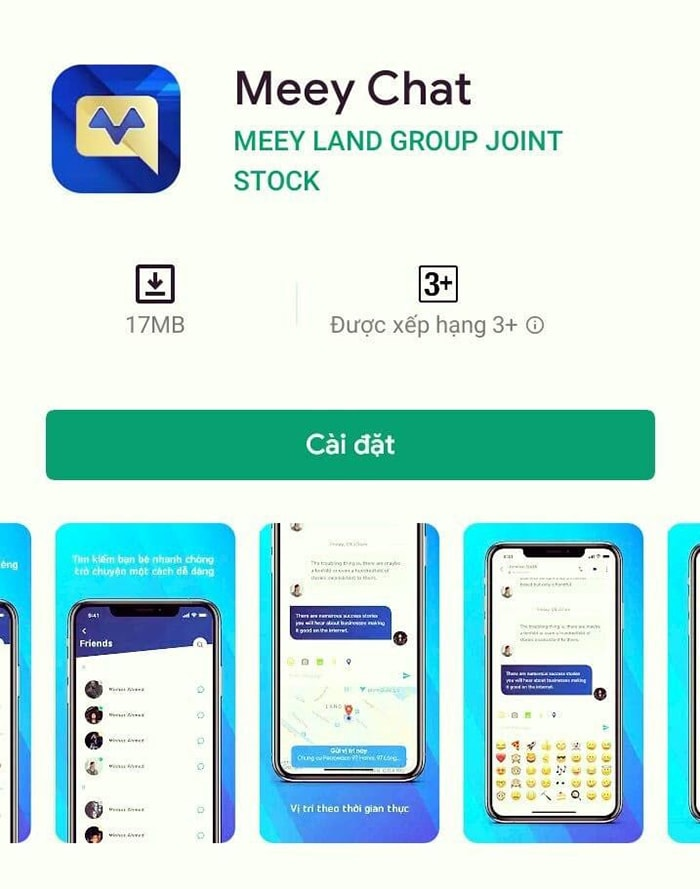Ứng dụng Meeychat của Meeyland giúp bạn sớm trao đổi thông tin với người cho thuê nhà nguyên căn hơn