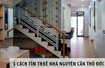 5 cách hay tìm được nơi thuê nhà nguyên căn Thủ Đức giá rẻ