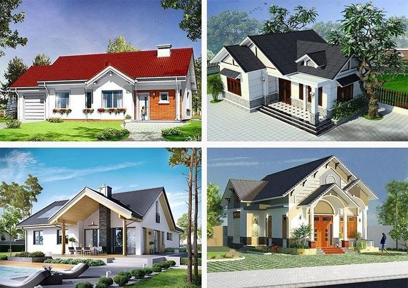 Những mẫu thiết kế nhà cấp 4 nổi bật