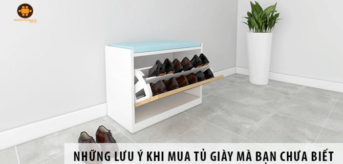 Tủ Giày Và Những Lưu Ý Khi Mua Tủ Giày Mà Bạn Chưa Biết